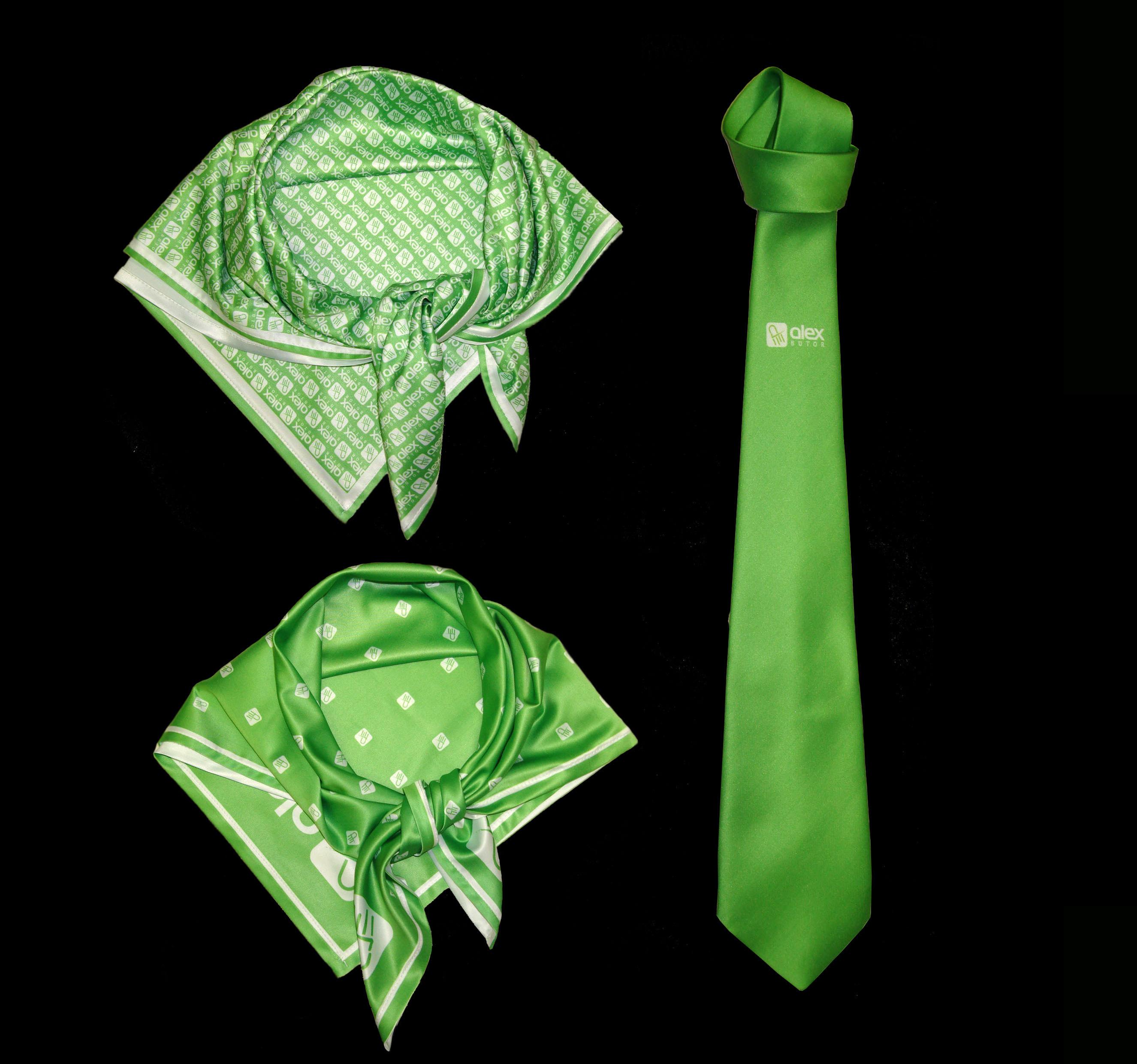 Nyakkendő emblémázás