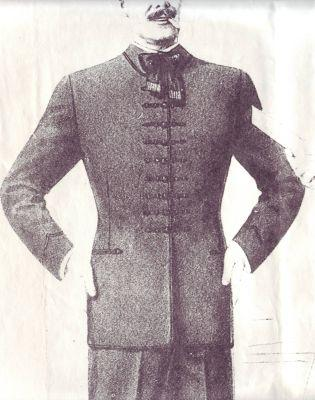 MO02 - férfi díszruha