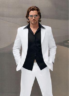 FL02 - fehér nyári férfi öltöny