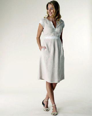 NL03 - lenes női ruha méretre