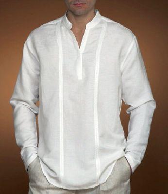 FL05 - len férfi ing