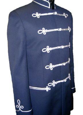 MO09 - Bocskai kabát ezüst zsinórozással
