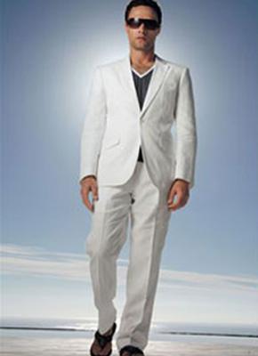 FL09 - lenes férfi öltöny