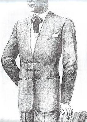 MO04 - zsinóros kabát