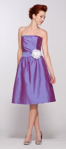 KL11 - lila koszorúslány ruha