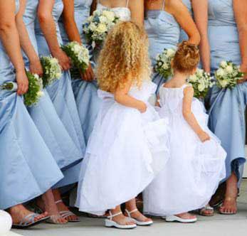 KL14 - gyűrűvivő ruha kislányoknak