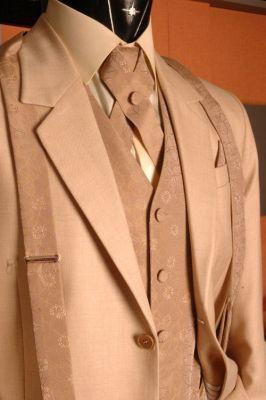AO01 - drapp alkalmi öltöny