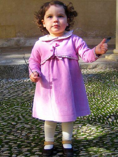 NGY10 - bársony kislány alkalmi ruha