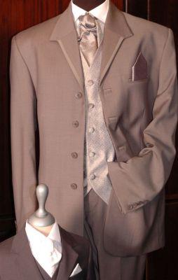 EF07 - Esküvői öltöny mellénnyel