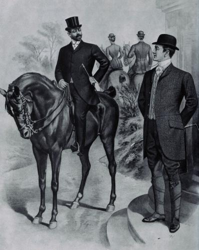 L01 - klasszikus lovas öltözetek